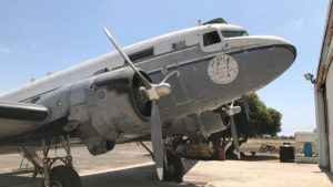 The DJ DORAN SHOW talks about PrideFlight and Priscilla Queen of the Sky a WWII era DC-3